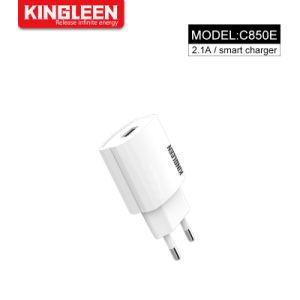 Разъем для мобильного телефона 2.1A ЕС портативное зарядное устройство для поездок на стене дома