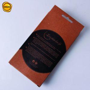 Il prezzo di fabbrica di Sinicline progetta il contenitore per il cliente di imballaggio stampato di memoria dei coperchi del telefono mobile della carta kraft