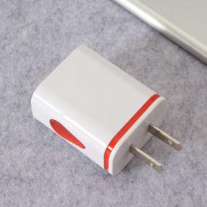 Eua/UE Adaptador de Carregamento rápido USB duplo Acessório de celular para celular