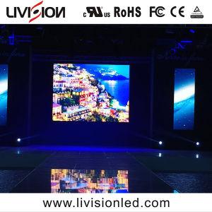 Tela LED interior ultra-fino LED HD Video wall Fase Visor LED de aluguer P3.9 / P4.8
