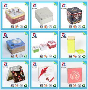 Sweet Square des boîtes de conserve pour l'alimentation/don/bonbon