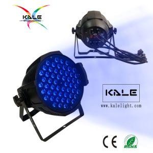 LED 54*3Wの同価RGBWの段階クラブディスコのイベントライト