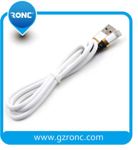 Dati degli accessori del telefono mobile che caricano il cavo del caricatore del USB