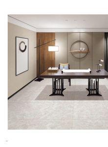 滑り止めのマットは0吸水の壁および床の無作法なタイルをタイルを張る