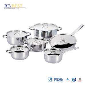 12pzas Borde de corte de acero inoxidable utensilios de cocina establecido