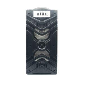 低音音楽音TFのカードの補助のモードの二重角の木の無線携帯用スピーカー
