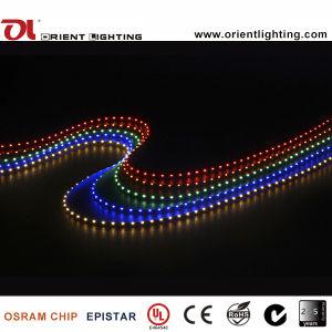 Indicatore luminoso di striscia flessibile di Lato-Vista Strip-60 LEDs/M LED del Ce SMD335 dell'UL