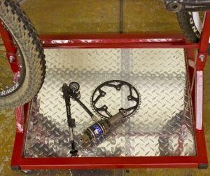 Support de stockage de la gravité de vélos Bike Rack pour afficher