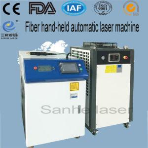 400W Automática máquina soldadora láser de fibra para Medacal Electronics