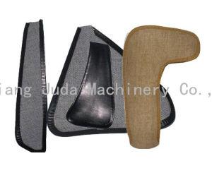 パテント・レザー靴袋のHandphoneの熱いセメントの端の折る機械