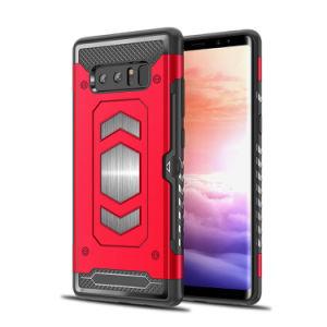 Geval van de Telefoon van de Cel van het pantser PC + het Mobiele van de Rugdekking TPU voor iPhone/Samsung/Huawei/Nokia/Moto/LG