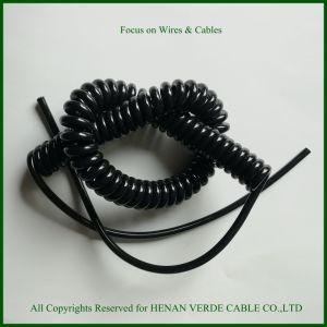 Вода с УФ защитой гибкий провод цилиндрическую винтовую пружину кабели Спиральный кабель