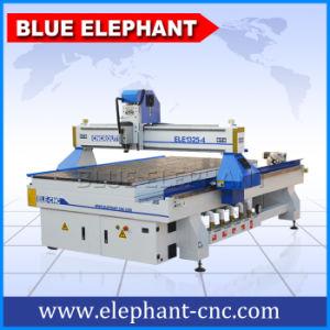 青い象からの真空システムが付いている空気冷却スピンドルEle1325打抜き機が付いている4つの軸線の中国CNCのルーター