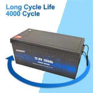 Personnalisée en usine à cycle profond 24V100ah Lithium 200AH Pack de Batterie LiFePO4