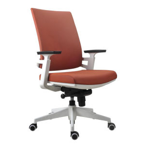 Ejecutivo respaldo alto resistente cuero rotatorio Silla de oficina