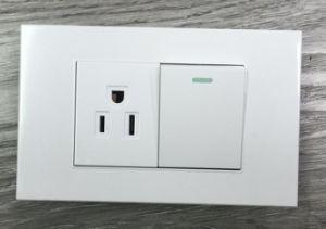 Deign Moda 1 Módulo de interruptor 3 Pins Toma de corriente.