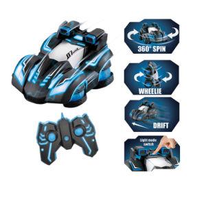Nuevos Productos de Control Remoto de plástico tirada de 360 grados juguetes Stunt Car