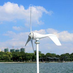 400W генератора ветра 12V 24V ветровой турбины с 3 или 5 лопастей Streetlight сад освещение для использования в домашних условиях