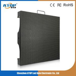 P4 Affichage LED Extérieur profilé en aluminium pour la publicité