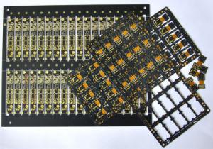 Dupla Flex placa PCB Rígida