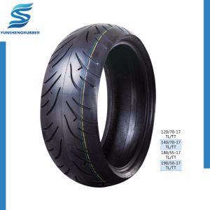 Qualidade superior China Pneu moto /Pneu 190/50-17TL