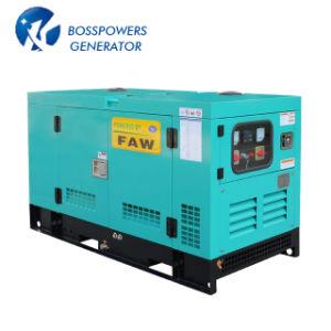 ISO 승인되는 Quanchai 산업 침묵된 발전기 25kw