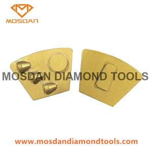 Disco di molatura della serratura PCD di Redi del trapezio per il preparato del pavimento