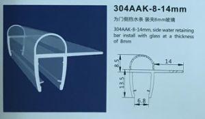 304aak-8-14mm Banho de PVC chuveiro tira do vedante magnético de PVC de gabinete