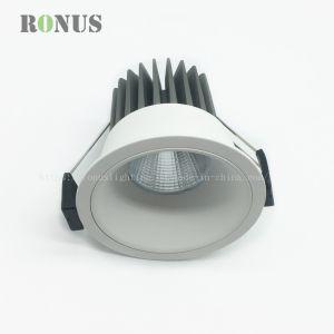 COB FOCO LED de alto Factor de potencia Spot Lámpara de iluminación de 10W Downlight de techo