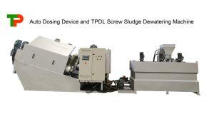 La prensa de tornillo Tpdl deshidratación de lodos de la máquina