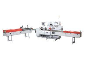 Tp-R220sm o tecido do rolo de papel higiénico embaladora Automática