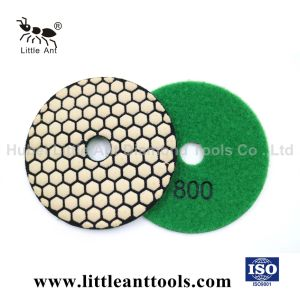 Herramientas de diamante de 80 mm de suelo seco pads de pulido y abrillantado Glaze abrasivos