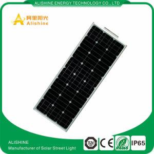 LED 80W de luz de calle solar integrada con LiFePO4 Batería de litio