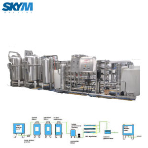 De Machine van de Zuiveringsinstallatie van het Water van de Filtratie van het zoute Water om Te vullen