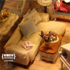 Maison de poupée de bricolage cadeau Cuteroom Miniatures un-032