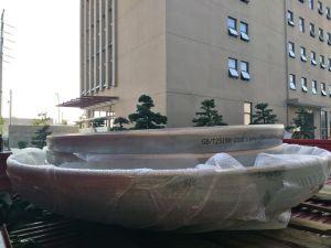 세륨 Colding Forming의 음식 기계장치 압력 용기 약제 기계장치를 위한 맥주 장비 음료 저장 탱크를 위한 PED에 의하여 증명되는 스테인리스 엔드 캡