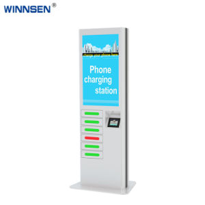 機能クレジットカードのSwiperのマルチ強力なロッカーの公共の携帯電話の充電器APC06b