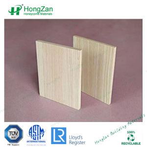 Comitato di legno di alluminio del grano per il rivestimento della parete