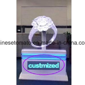 Новейшие голограмма на дисплее LED вентилятор для использования внутри помещений реклама оборудование
