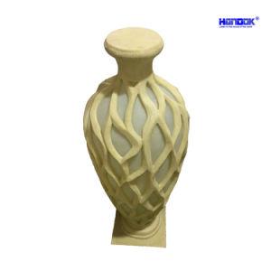 De Vloer die van de Vaas van de Bloem van Standstone van de Decoratie van het huis LEIDENE Lamp bevinden zich