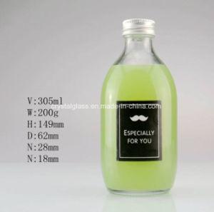 Kurzer runder Getränkeflaschen-Milch-Glas-Becher für das Trinken von 260/520ml
