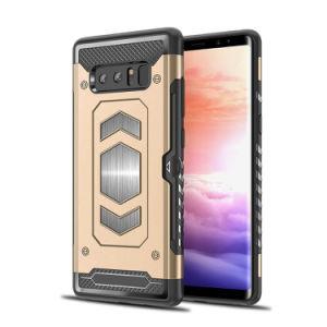 装甲パソコン+ TPUのiPhoneのための移動式裏表紙の携帯電話の箱かSamsungまたはHuaweiまたはNokiaまたはMoto/LG