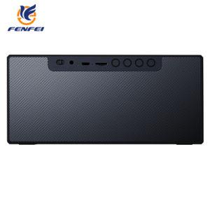 Alarmuhr Bluetooth TF-FM Zusatz drahtloser Lautsprecher Doppelfehlerfreier Subwoofer Bluetooth Baß-Lautsprecher