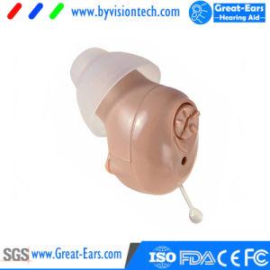 Amplificatore di udienza di Cic della protesi acustica di udienza di Digitahi che misura orecchio interno con la punta dell'orecchio della protesi acustica