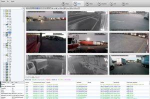 Videoüberwachung-Management-Software CCTV bewegliches 4G GPS Schreiber aufspürend