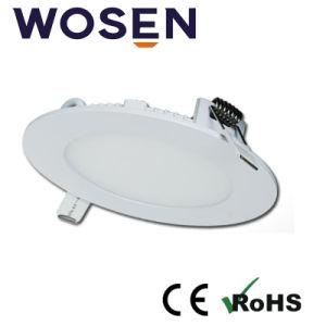 承認されるULが付いている疲労の丸型LED 6Wのパネルを減らしなさい