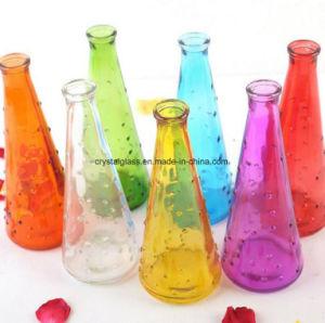 Высокое ясно хрустальное стекло ваза цветов