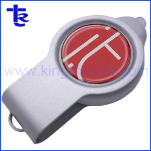 Логотип полимера с индикатором флэш-накопитель USB для рекламных