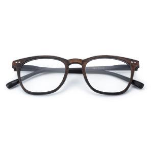 La Imitación Madera gran espectáculo Marcos para hombres, mujeres gafas de lectura