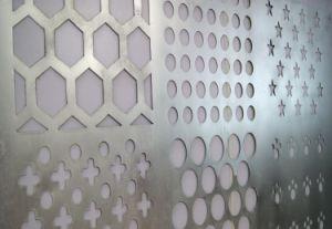 Настраиваемые отверстие оцинкованных перфорированной металлической сетки